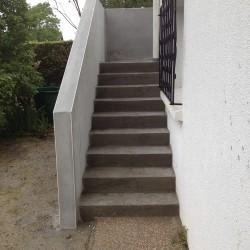 escalier extérieur 1er plateau