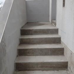 escalier extérieur 2 eme plateau