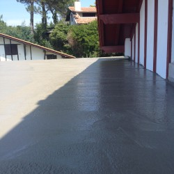 coulage plancher terrasse 6